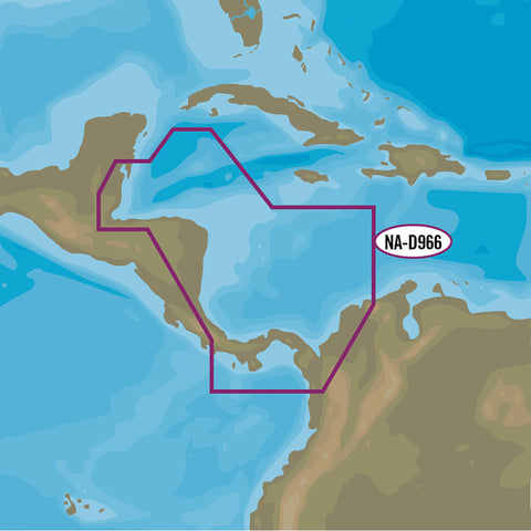 C-MAP 4D NA-D966 - Belize to Panama Local [NA-D966]