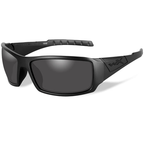 Wiley X Twisted Black Ops Sunglasses - Smoke Grey Lens - Matte Black Frame [SSTWI01]