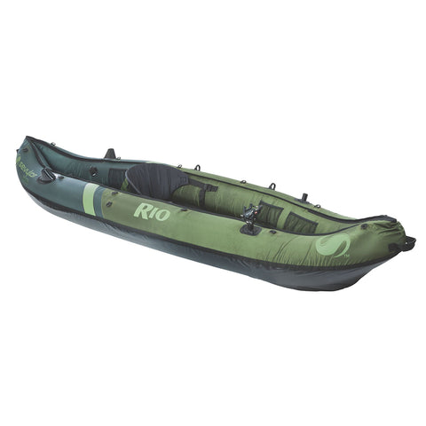 Sevylor Rio Inflatable Fishing Canoe - 1-Person [2000014134]