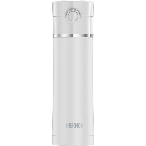 Thermos Sipp Stainless Steel Drink Bottle - 16 oz. - Matte White [NS4028WH4]
