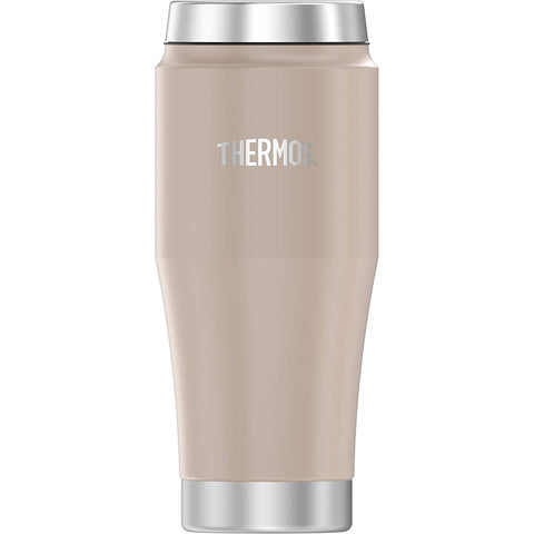 Thermos Vacuum Insulated Stainless Steel Travel Tumbler - 16oz - Matte Stone Gray [H1018SG4]