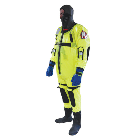 First Watch RS-1000 Ice Rescue Suit - Hi-Vis Yellow [RS-1000-HV-U]