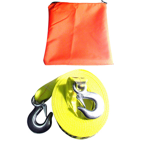 Rod Saver Emergency Tow Strap - 10,000lb Capacity [ETS]