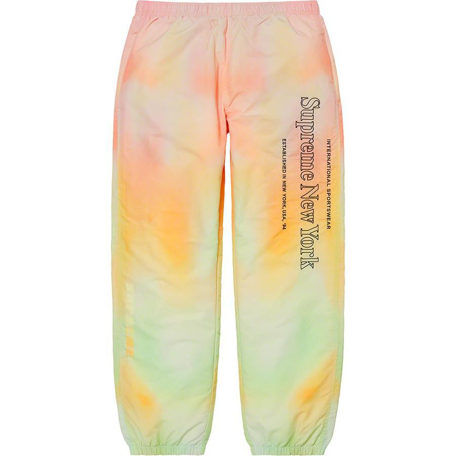 Supreme Side Logo Track Pant (Yellow Gradient) | Waves Never Die | Supreme | Pants