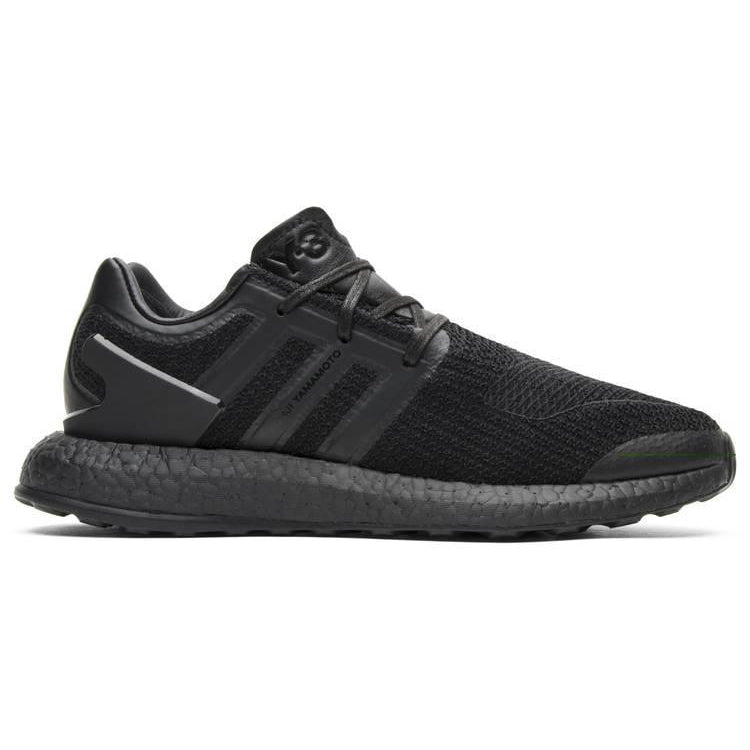 Adidas Y-3 PureBoost 'Triple Black' - Waves Never Die
