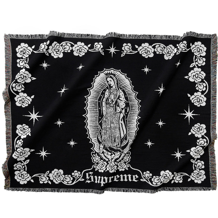 Supreme Virgin Mary Blanket | Waves Never Die | Supreme | Accessories