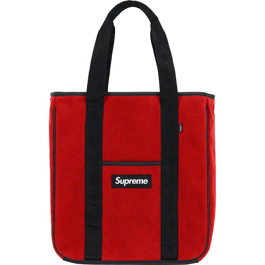 Supreme Polartec® Tote (Red) | Waves Never Die | Waves Never Die