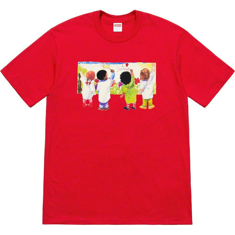 Supreme Kids Tee (Red)