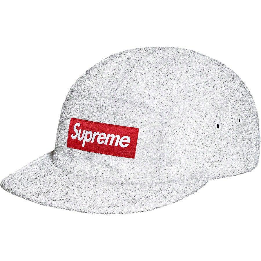 Supreme Glitter Terry Cap (White) | Waves Never Die | Waves Never Die