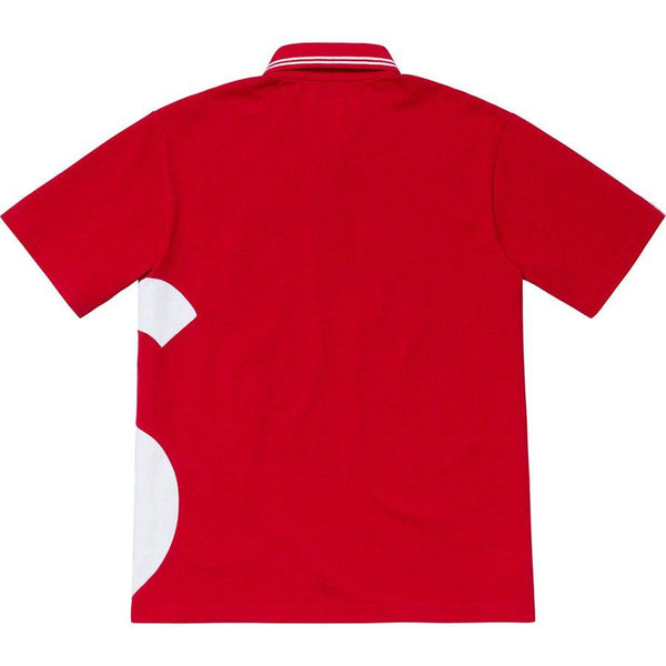 Supreme S Logo Polo (Red)