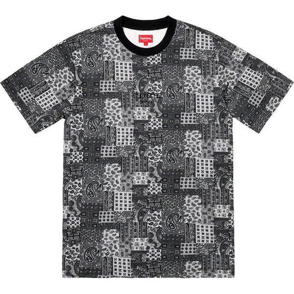 Supreme Patchwork Paisley S/S Top (Black)