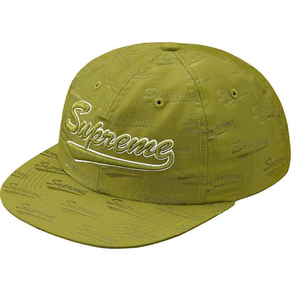 Supreme Jacquard Script 6-Panel (Green)