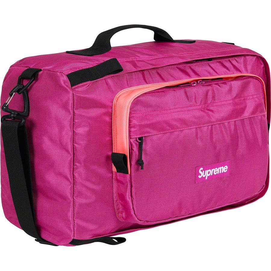 Supreme Duffle Bag (Magenta) | Waves Never Die | Waves Never Die