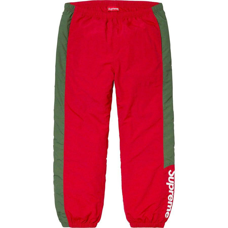 Supreme Side Logo Track pants (Red)