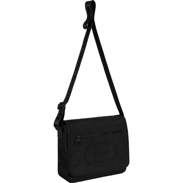 Supreme®/ LACOSTE Small Messenger Bag (Black)