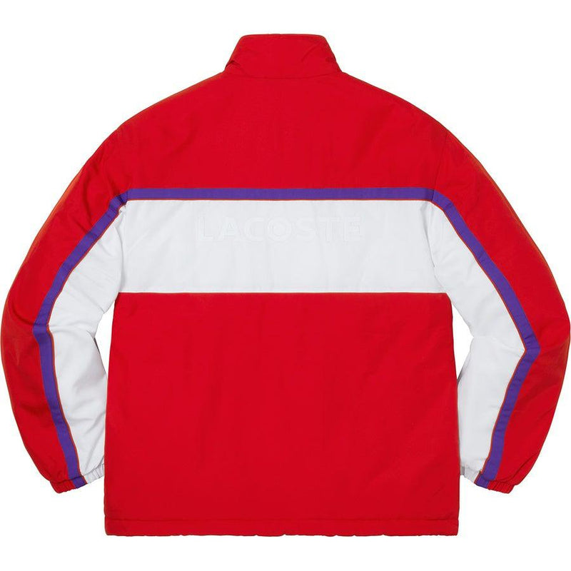 Supreme®/ LACOSTE Puffy Half Zip Pullover (Red)