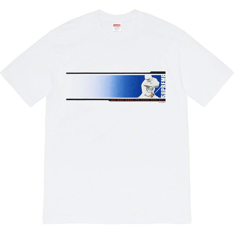 Supreme We're Back Tee (White) | Waves Never Die | Waves Never Die