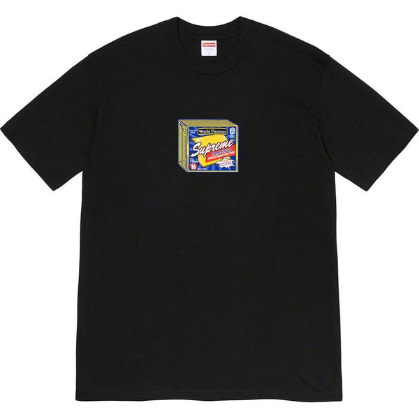 Supreme Cheese Tee (Black)