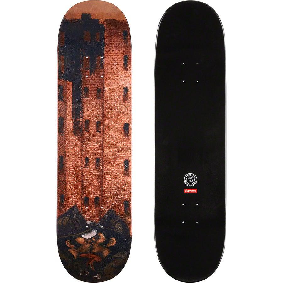 Martin Wong/Supreme Big Heat Skateboard | Waves Never Die | Supreme | Skate Decks