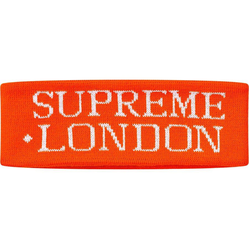 Supreme International Headband (Orange) | Waves Never Die | Waves Never Die