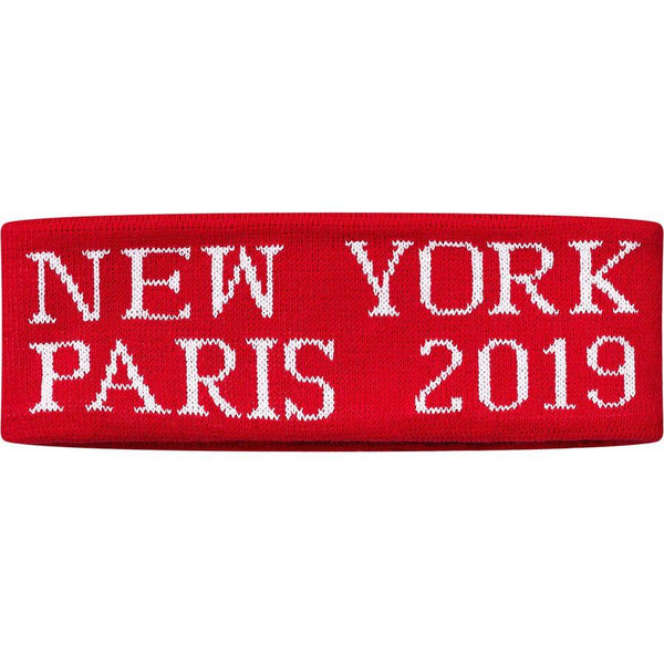 Supreme International Headband (Red)