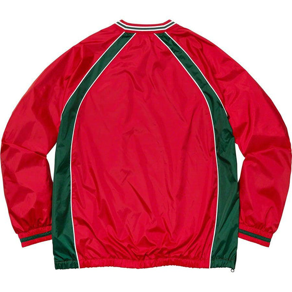 Supreme Piping Warm Up Pullover (Red)