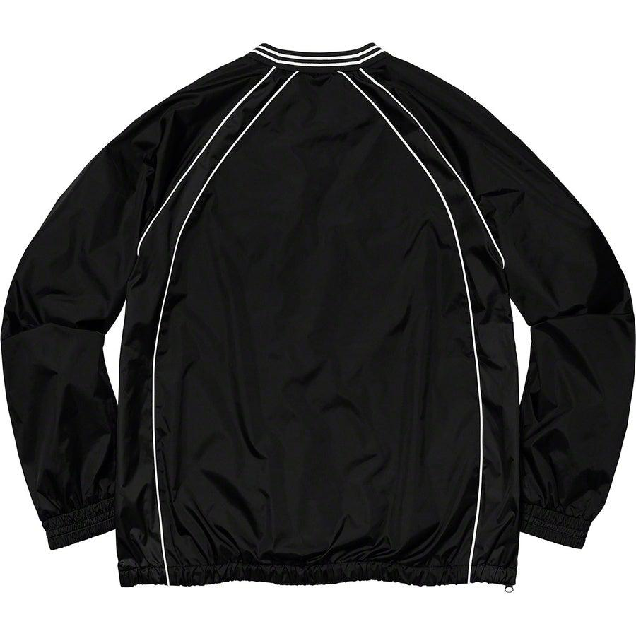 Supreme Piping Warm Up Pullover (Black) | Waves Never Die | Waves Never Die