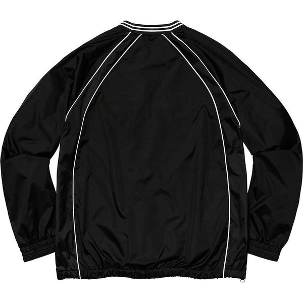 Supreme Piping Warm Up Pullover (Black)