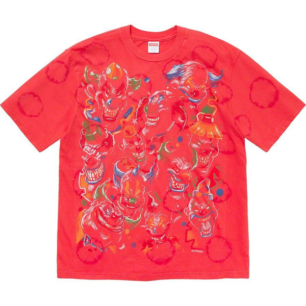 Supreme Clowns Tee (Bleached Red)