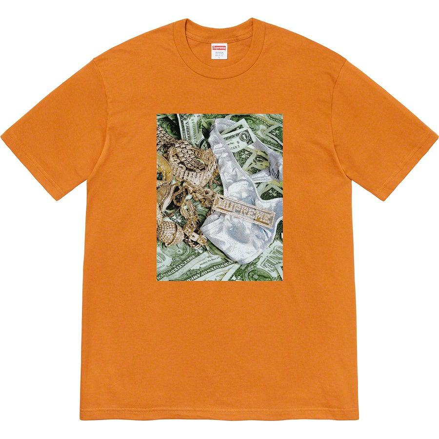 Supreme Bling Tee (Burnt Orange) | Waves Never Die | Supreme | T-Shirt