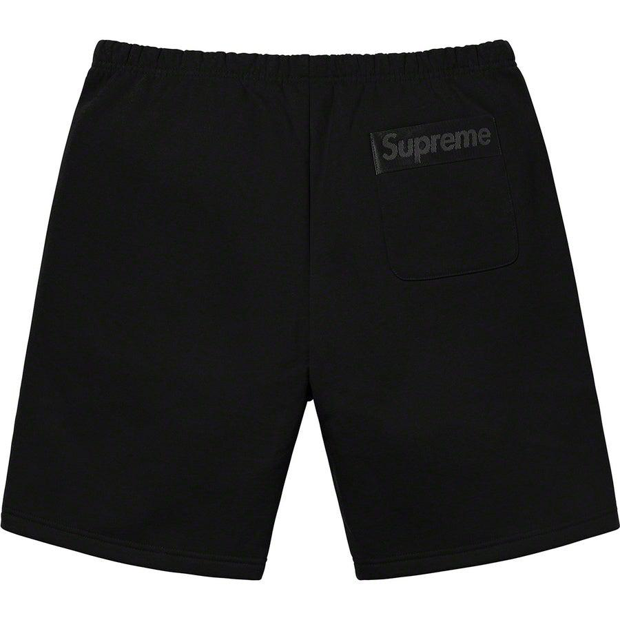 Supreme Tonal Webbing Sweatshort (Black) | Waves Never Die | Waves Never Die