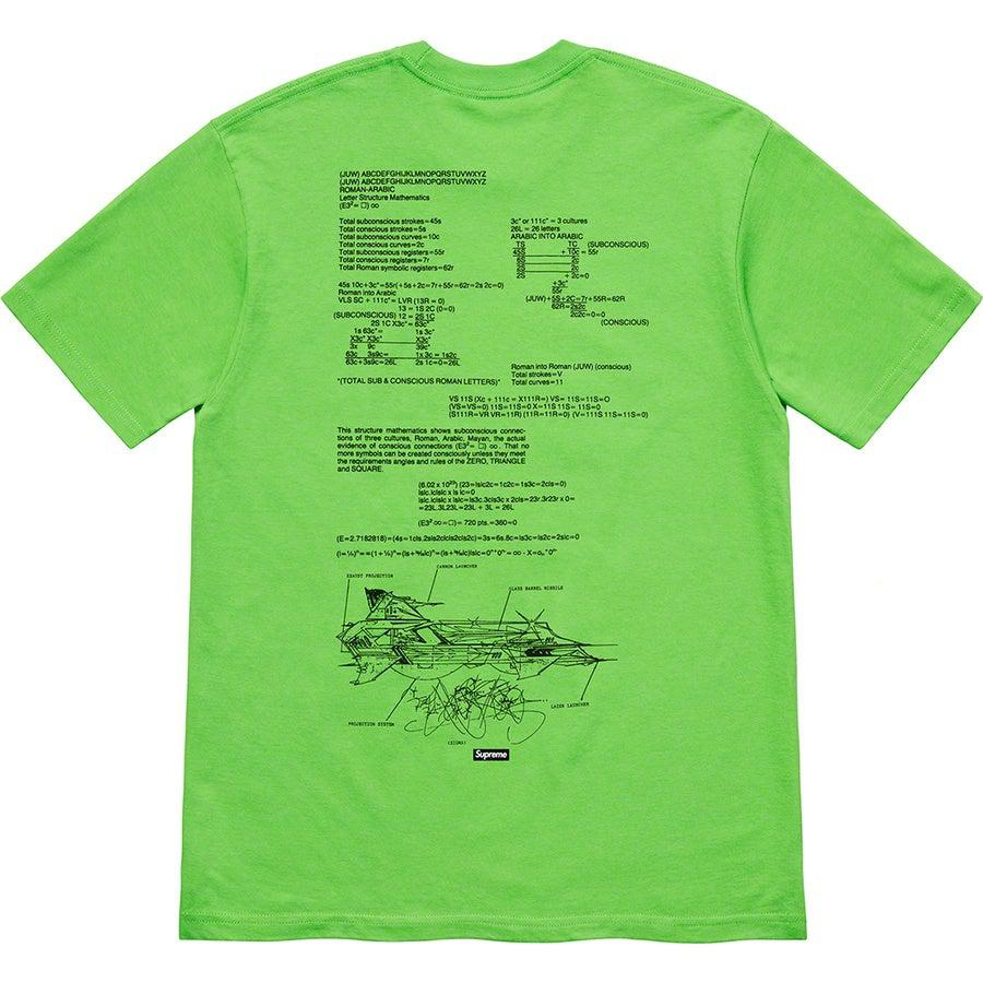 Supreme Rammellzee Tee (Green) | Waves Never Die | Supreme | T-Shirt