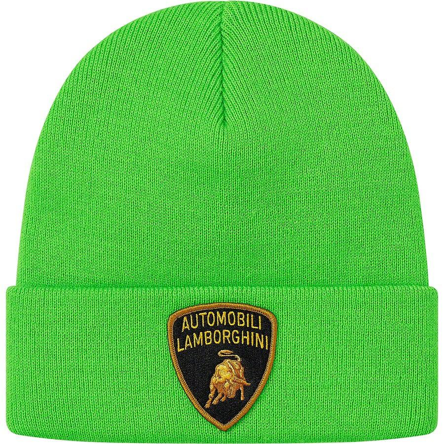 Supreme®/Automobili Lamborghini Beanie (Green) | Waves Never Die | Waves Never Die