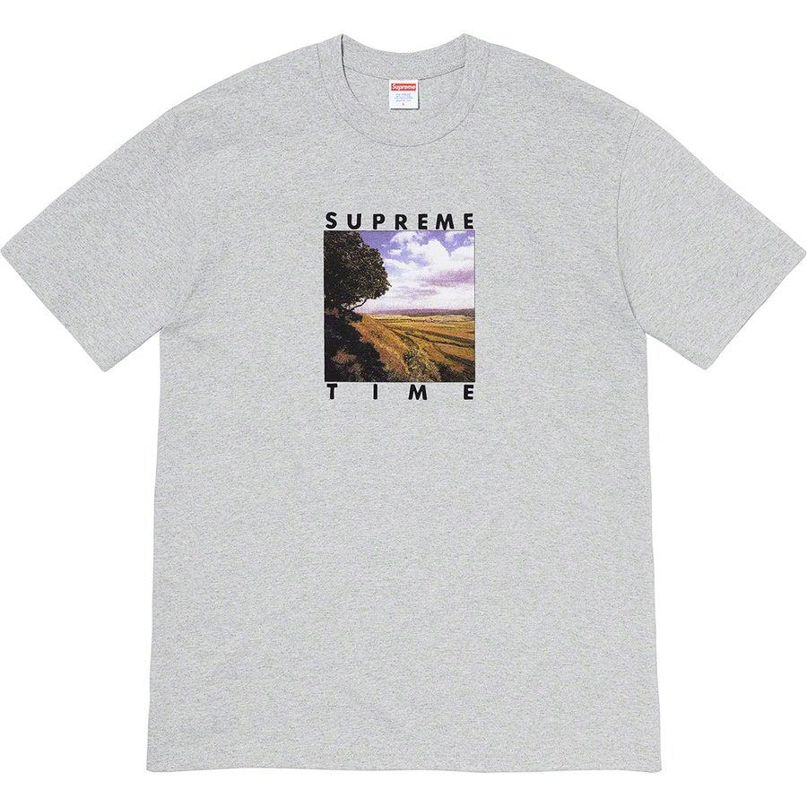 Supreme Time Tee (Grey) | Waves Never Die | Supreme | Clothing