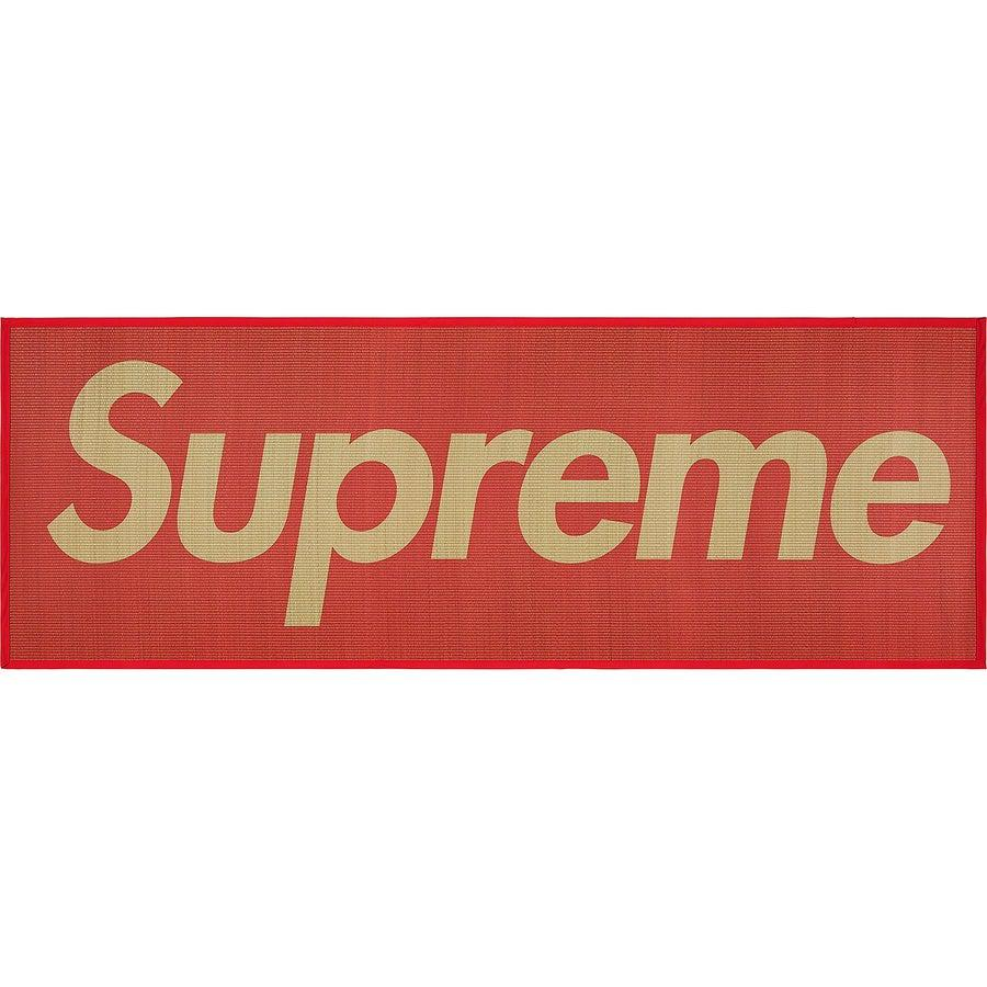 Supreme Woven Straw Mat (Red) | Waves Never Die | Waves Never Die