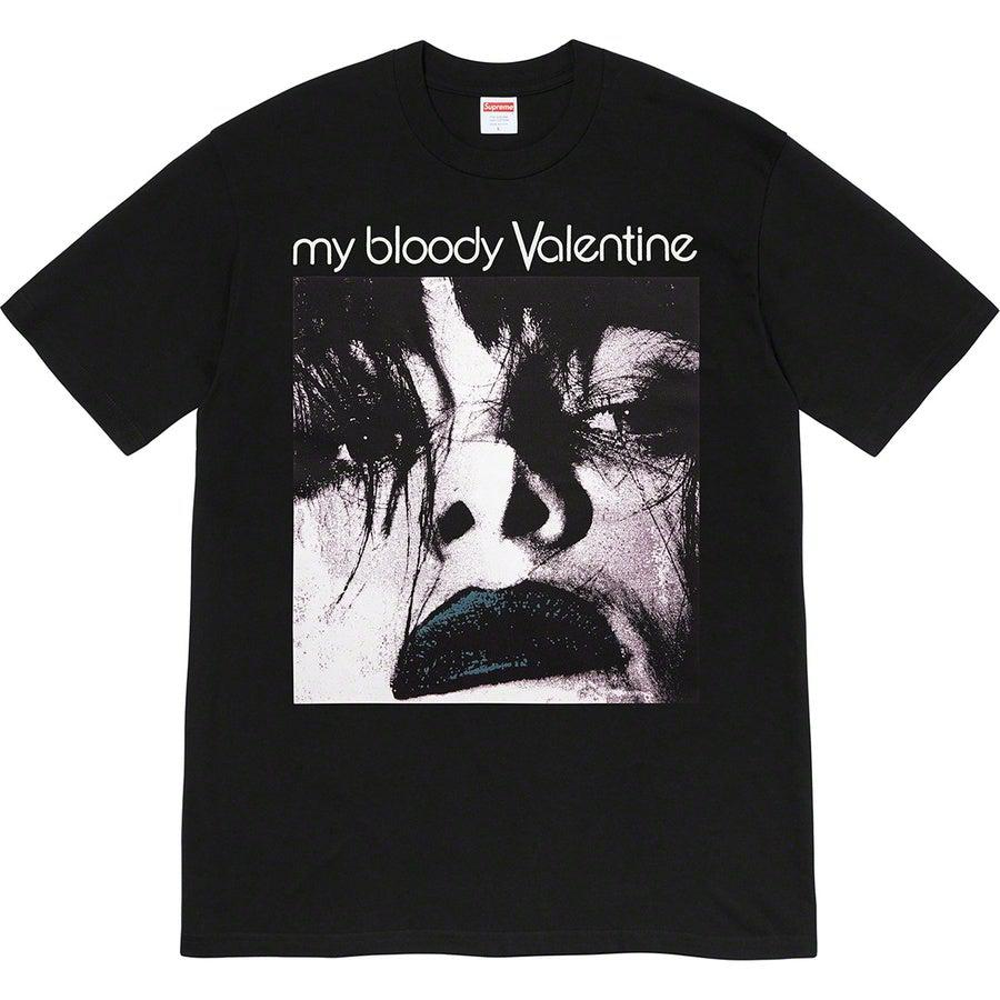 Supreme My Bloody Valentine/Supreme Feed Me With Your Kiss Tee (Black) | Waves Never Die | Supreme | T-Shirt