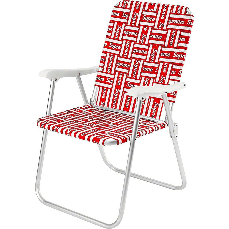 Supreme Lawn Chair | Waves Never Die | Supreme | Home