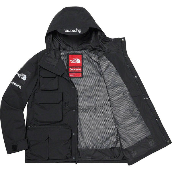 Supreme®/The North Face® Cargo Jacket (Black) | Waves Never Die | Supreme | Jacket