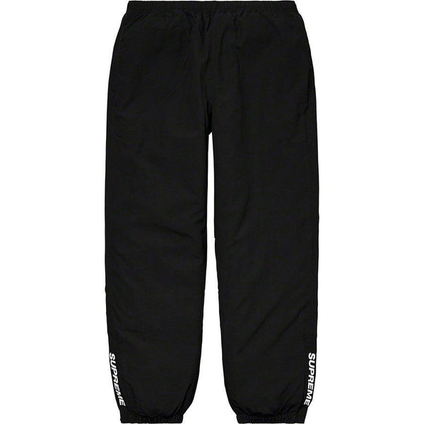 Supreme Warm up Pants (Black) | Waves Never Die | Supreme | Pants