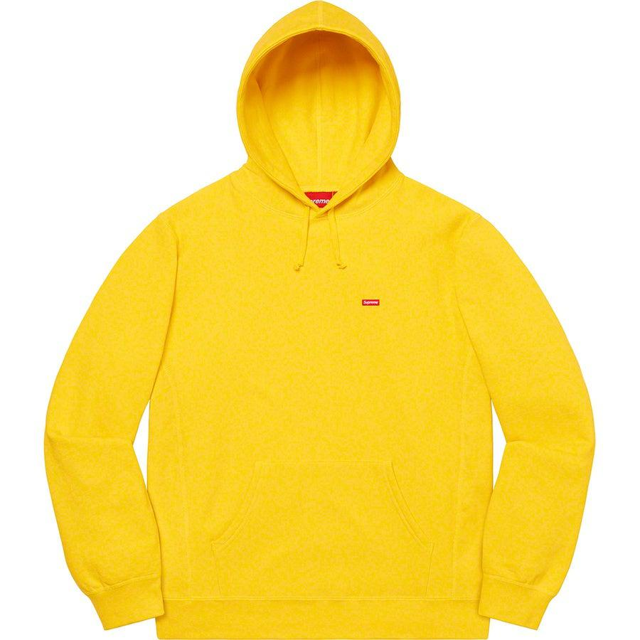 Supreme Small Box Hooded Sweatshirt (Yellow) | Waves Never Die | Supreme | Hoodie