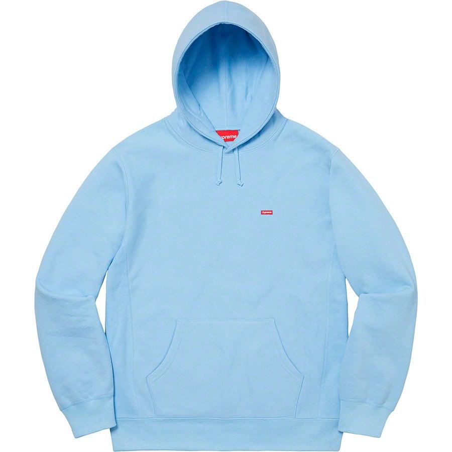 Supreme Small Box Hooded Sweatshirt (Ice Blue) | Waves Never Die | Supreme | Hoodie