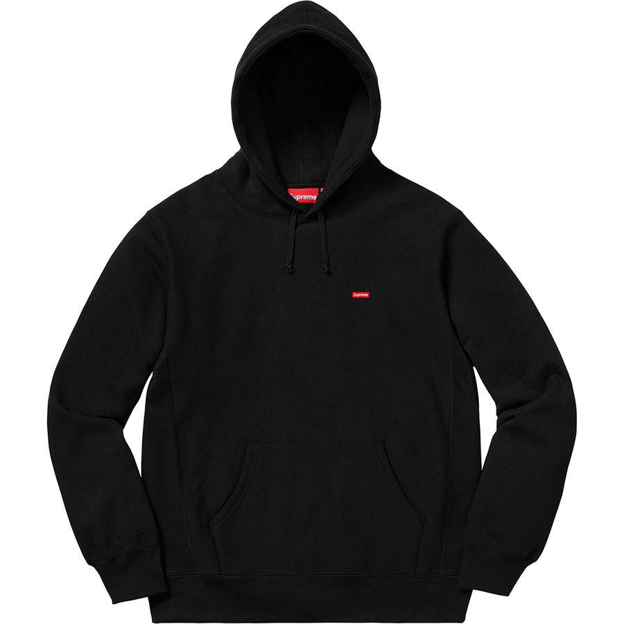 Supreme Small Box Hooded Sweatshirt (Black) | Waves Never Die | Supreme | Hoodie