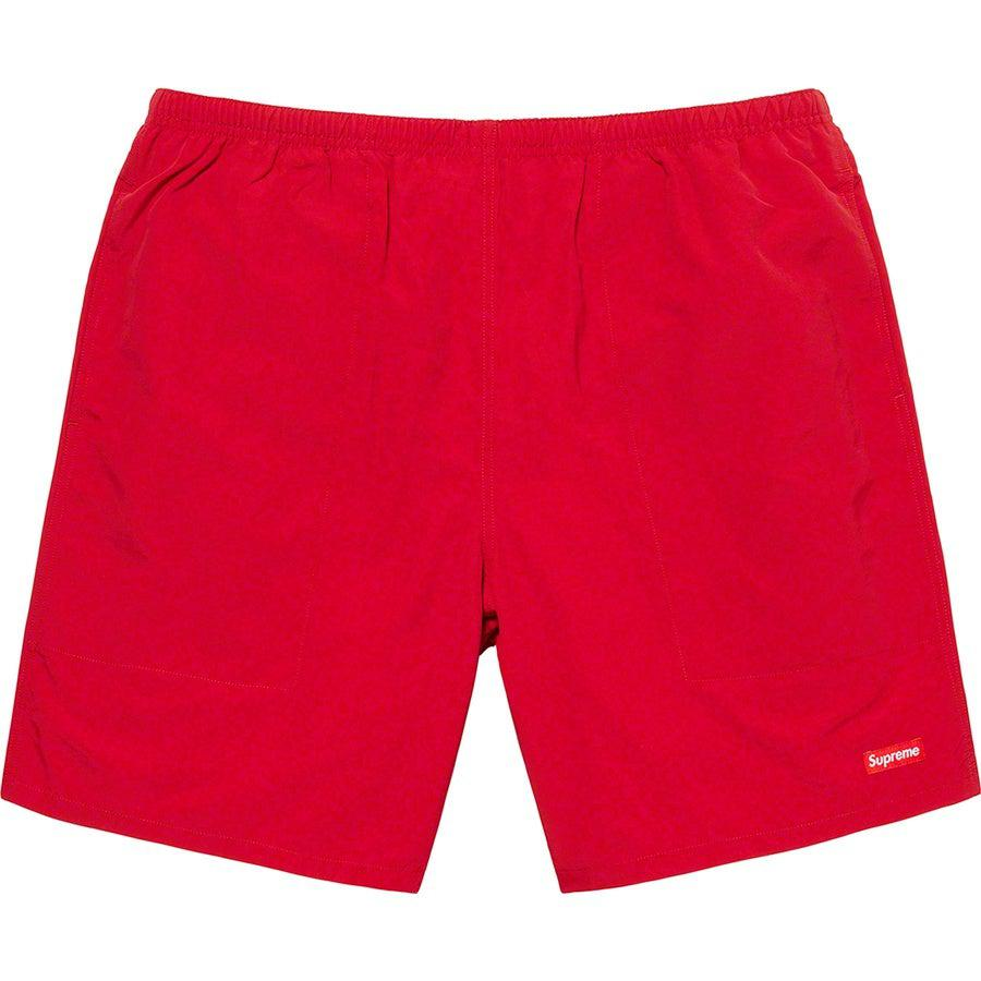 Supreme Nylon Water Short (Red) | Waves Never Die | Supreme | Shorts
