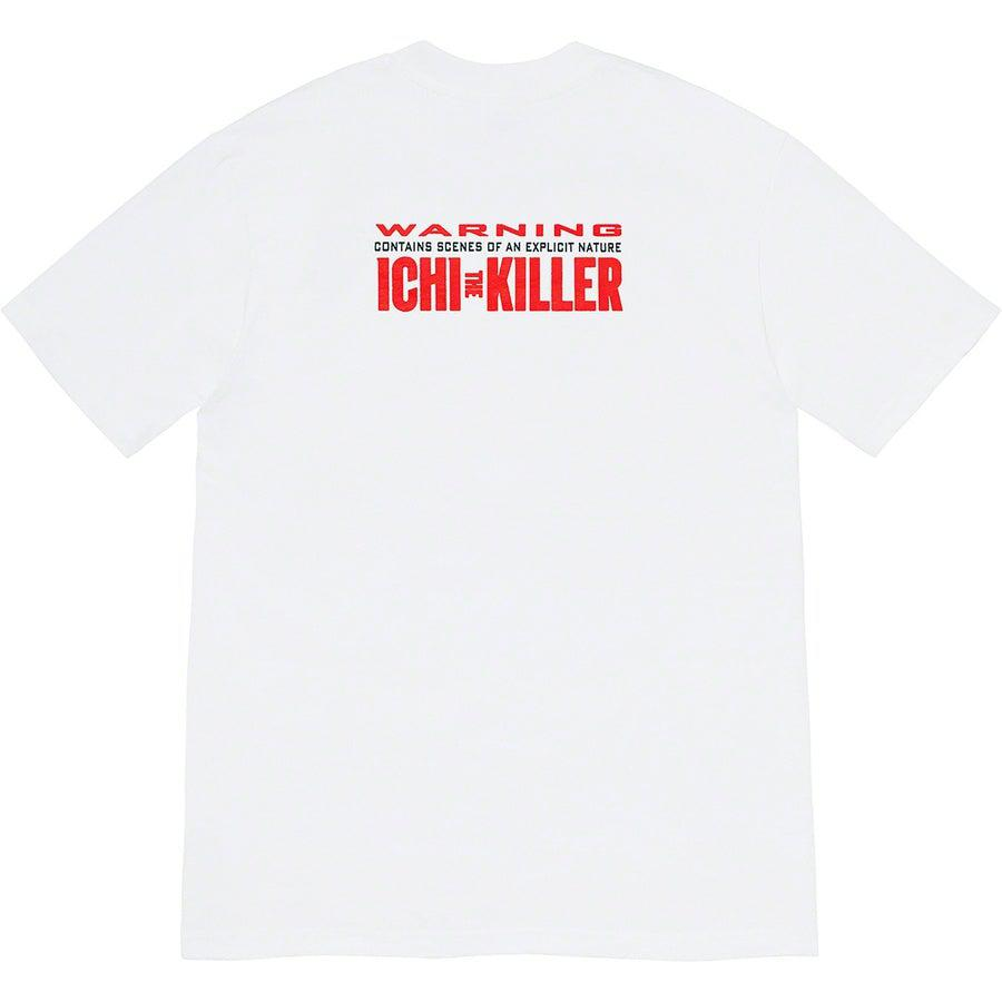 Supreme Split Tee (White) | Waves Never Die | Supreme | T-Shirt