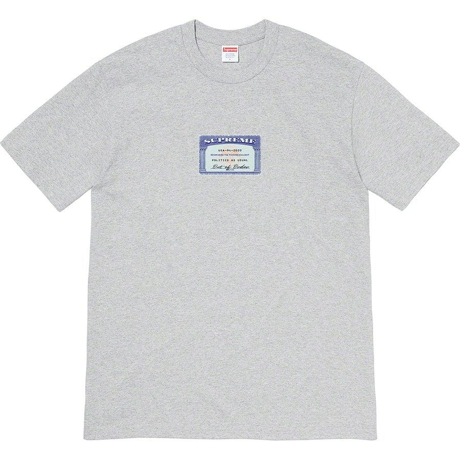 Supreme Social Tee (Grey) | Waves Never Die | Supreme | T-Shirt