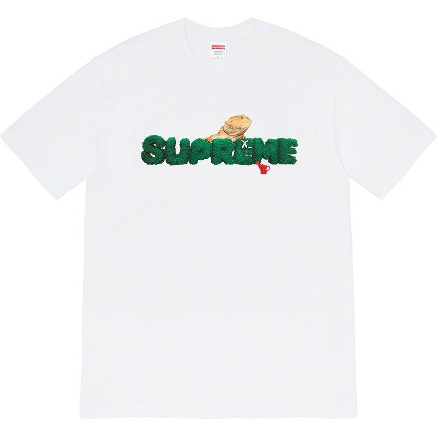 Supreme Lizard Tee (White) | Waves Never Die | Supreme | T-Shirt