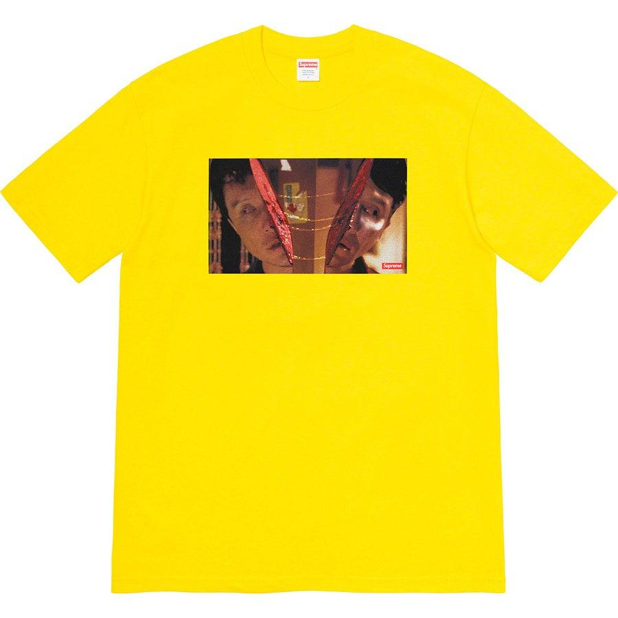 Supreme Split Tee (Yellow) | Waves Never Die | Supreme | T-Shirt
