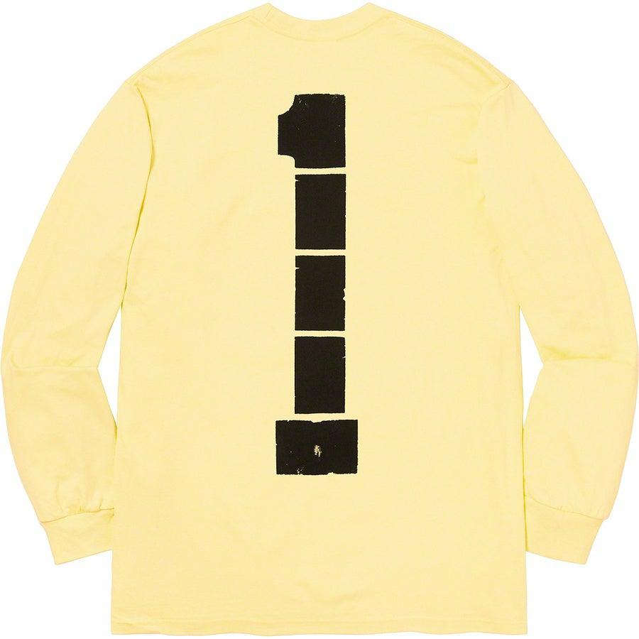 Supreme Ichi The Killer L/S Tee (Pale Yellow) | Waves Never Die | Supreme | T-Shirt
