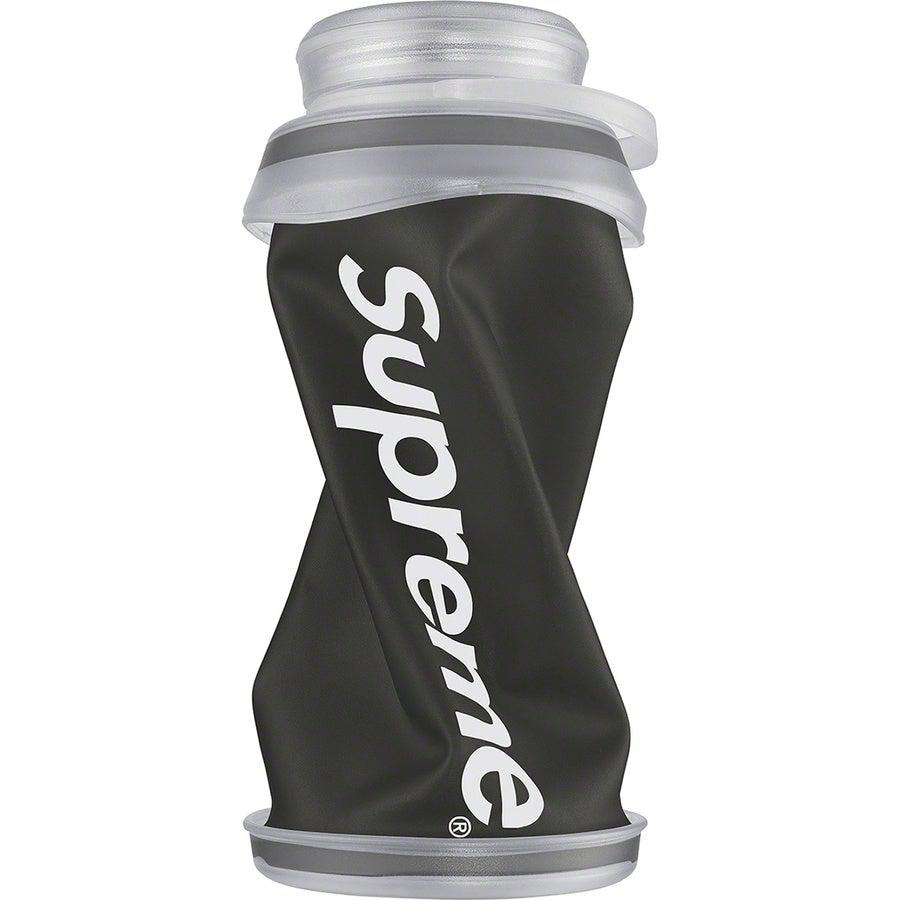 Supreme®/ HydraPak Stash™ 1.0L Bottle (Black) | Waves Never Die | Supreme | Accessories