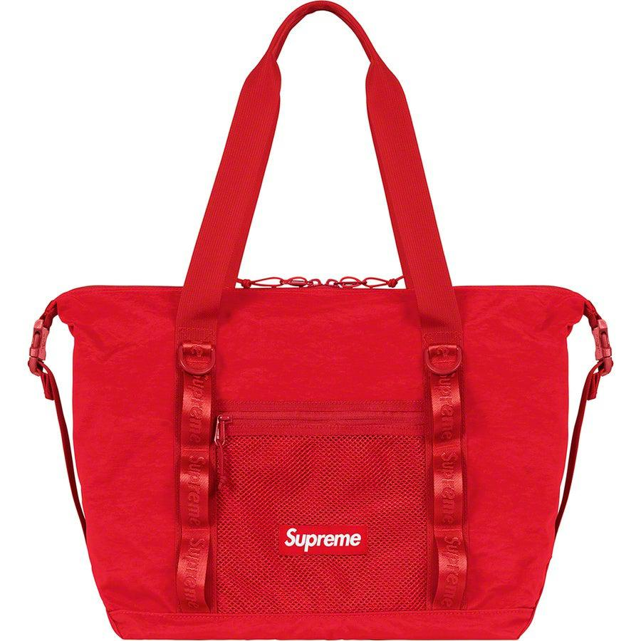 Supreme Tote Bag (Red) | Waves Never Die | Supreme | Bag